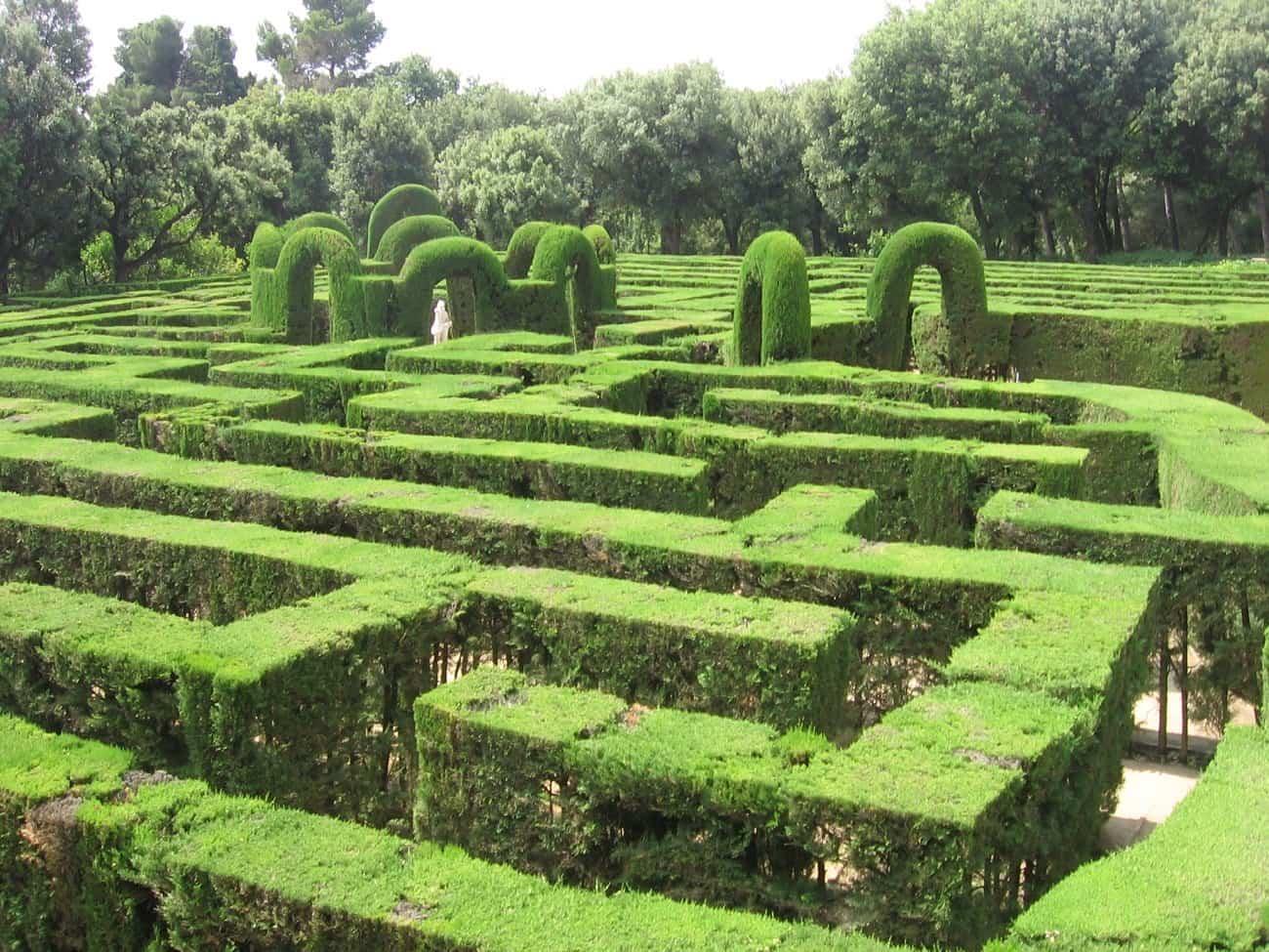 lugares romanticos 1 parque del laberinto de horta
