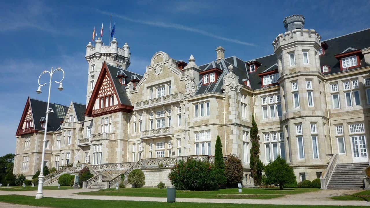 lugares romanticos 10 palacio de la magdalena