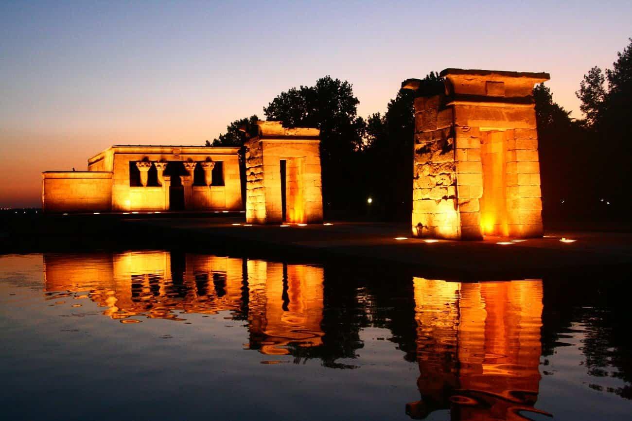 lugares romanticos 2 templo de debod