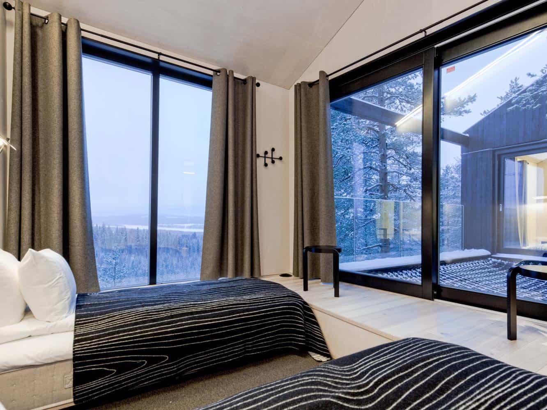 Séptima habitación treehotel en Suecia 10
