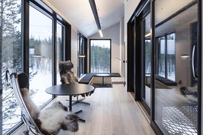 Séptima habitación treehotel en Suecia 12