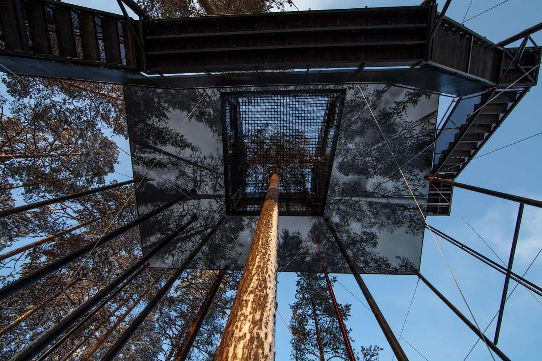 Séptima habitación treehotel en Suecia 3