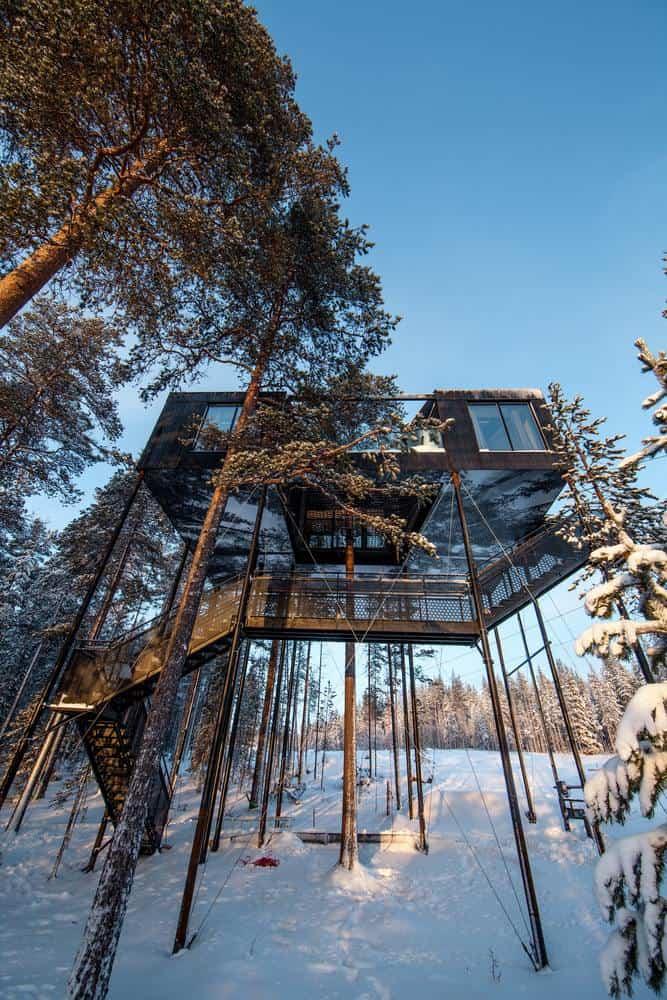 Séptima habitación treehotel en Suecia 6