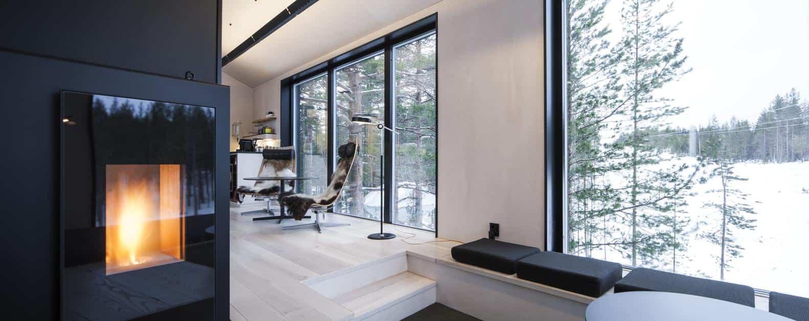 Séptima habitación treehotel en Suecia 9