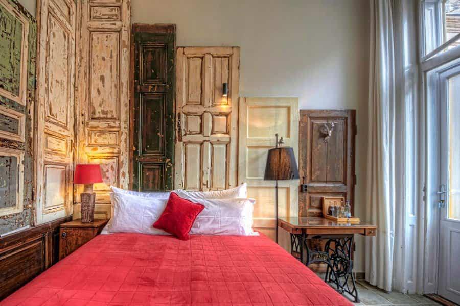 cabeceros de cama 1 puertas de madera