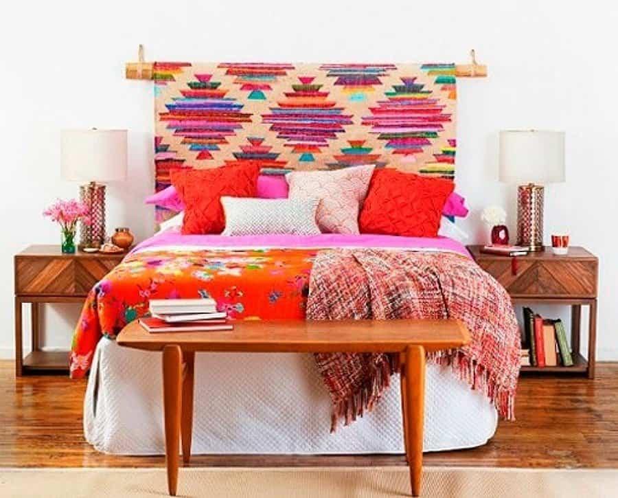cabeceros de cama 12 tejido etnicos