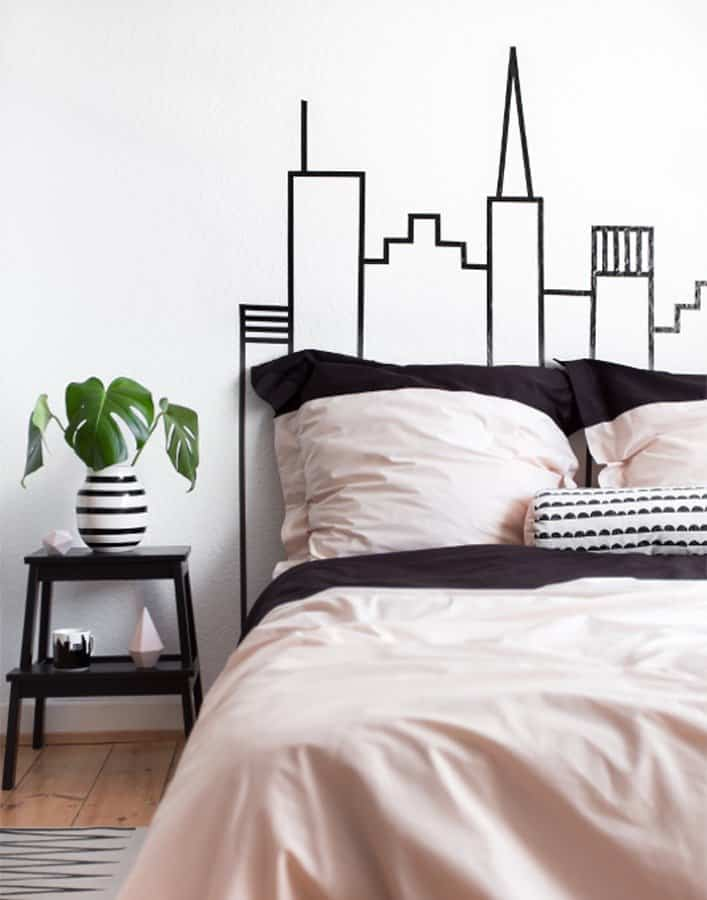cabeceros de cama 5 dibujo washi tape