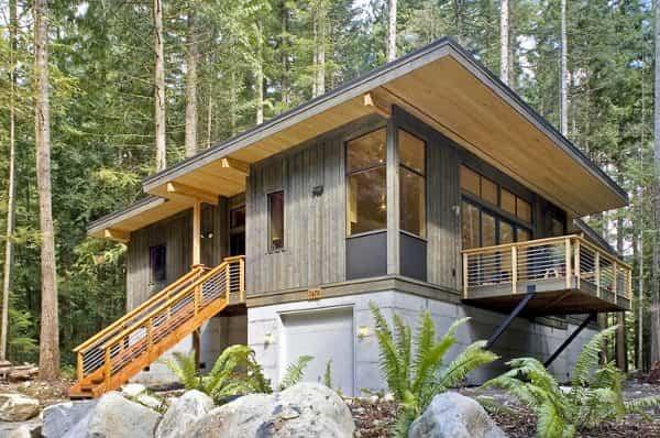 Esa espectacular casa de campo prefabricada hará realidad tus sueños de niño