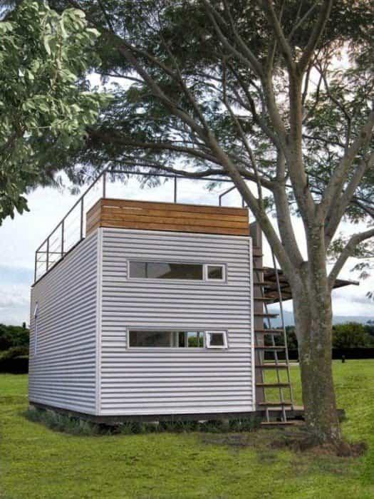 casa fabricada con un contenedor marítimo 2