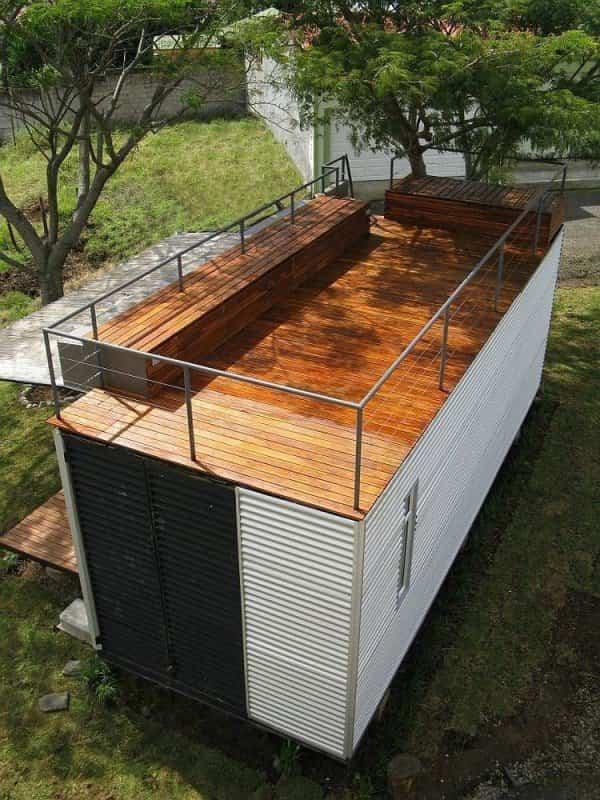 casa fabricada con un contenedor marítimo 3
