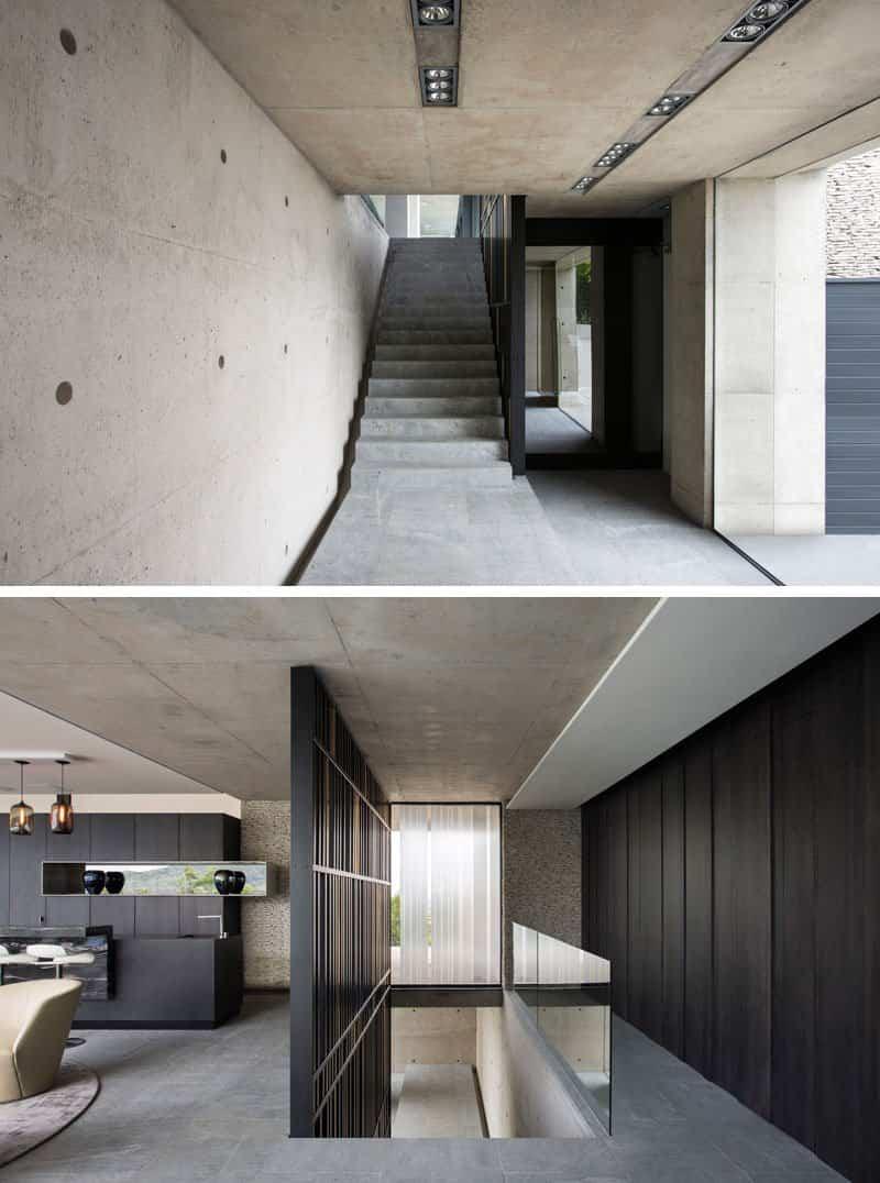 moderna casa de hormigón 3