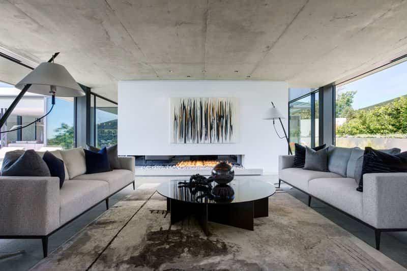 moderna casa de hormigón 5