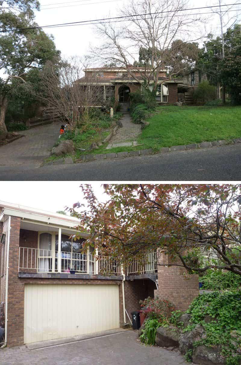reforma contemporánea casa de Australia
