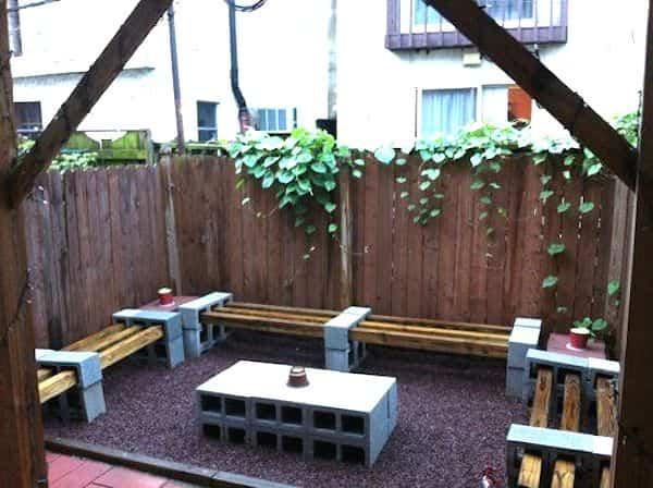 bloques de cemento para decorar 13 zona de relax