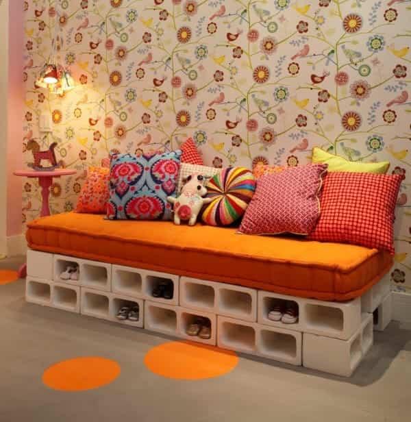 bloques de cemento para decorar 9 sofa para el salon