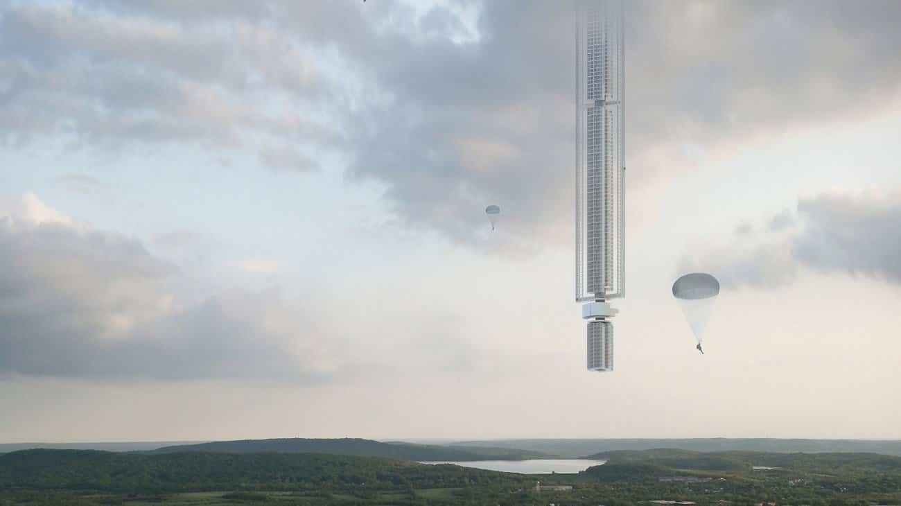 torre analemma suspendida de un asteroide 2