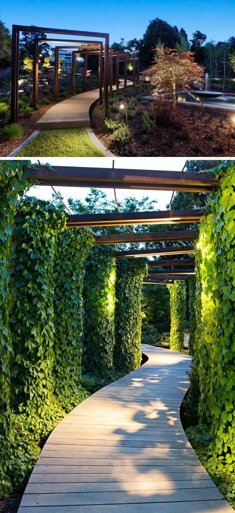 camino modernoa para el jardin 10