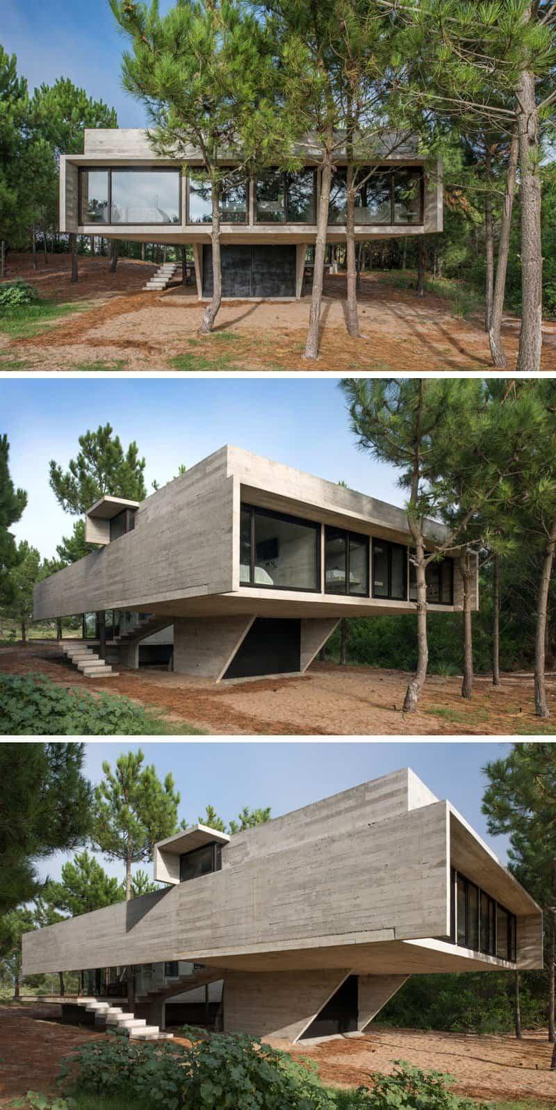 moderna casa argentina de hormigon 2