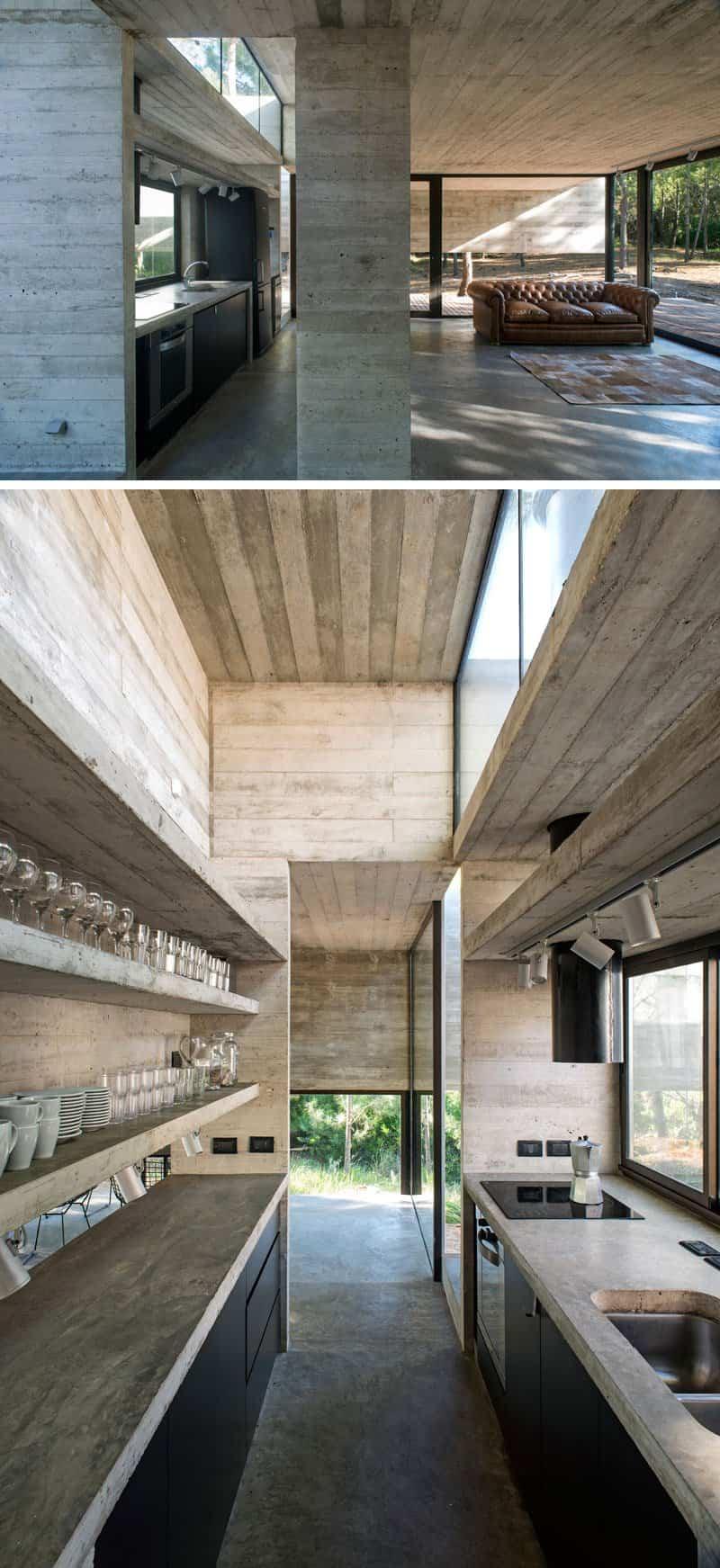 Esta moderna casa argentina est fabricada completamente - Casa de hormigon ...