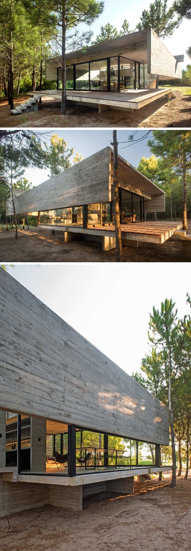 moderna casa argentina de hormigon 8