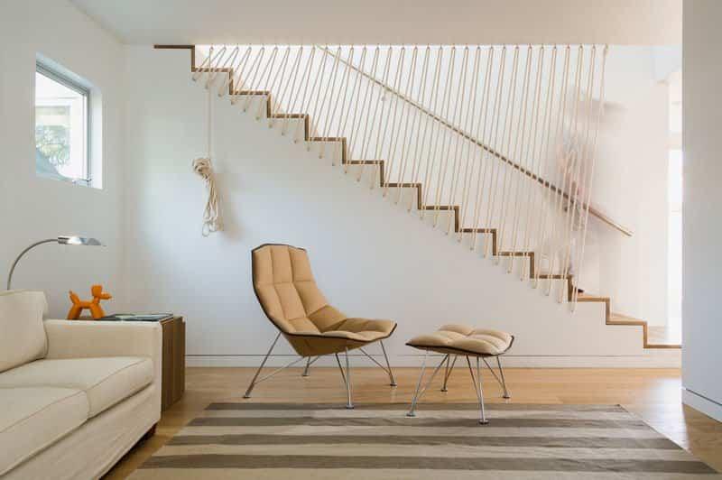 6 originales barandillas de cuerdas pensadas para - Escalera de cuerda ...