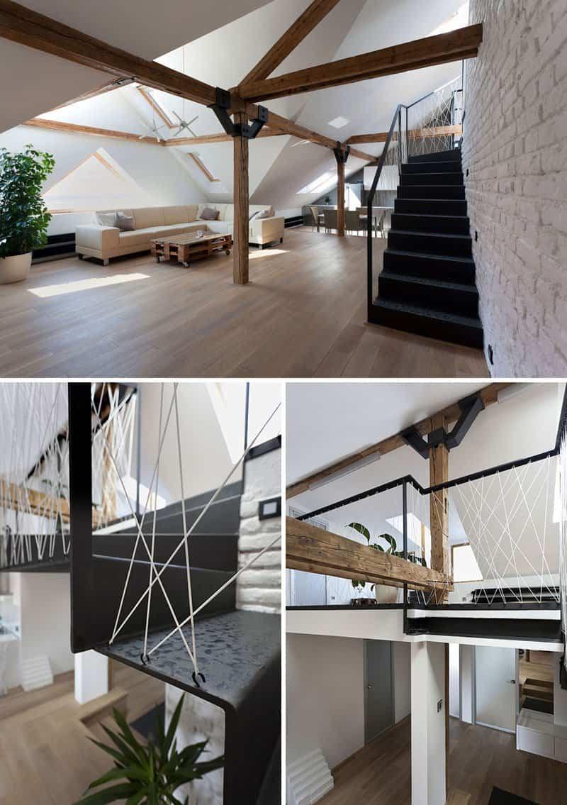 6 originales barandillas de cuerdas pensadas para - Barandillas escaleras modernas ...
