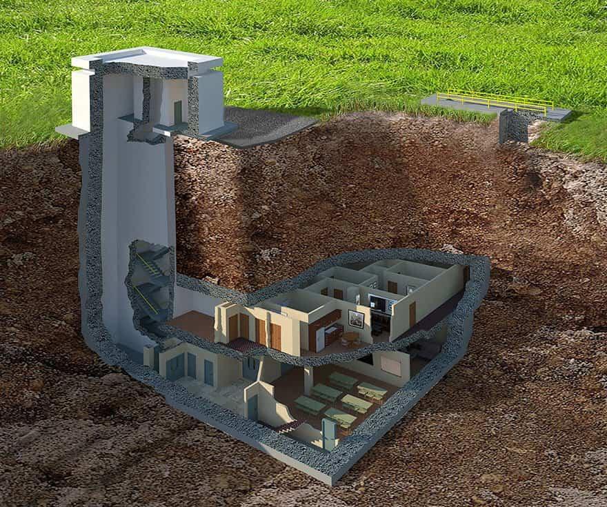 Este lujoso búnker nuclear cuesta 17,5 millones de dólares pero te sorprenderá lo que esconde en su interior