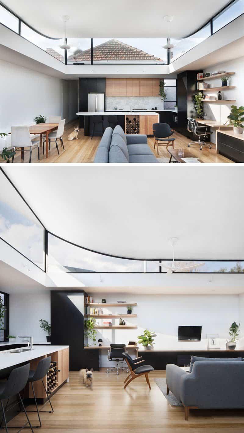 casa con techo curvo 3