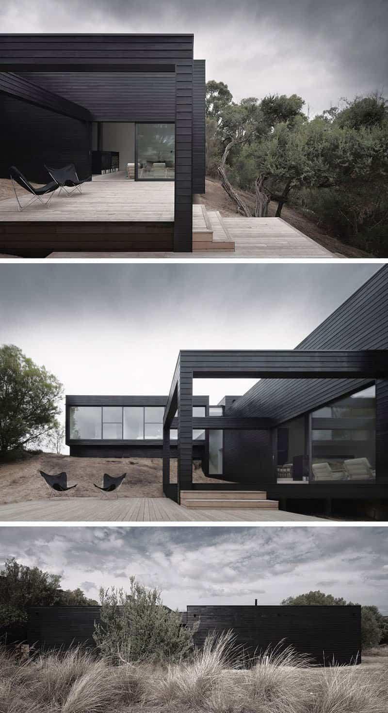 casas modernas con exteriores negros 1