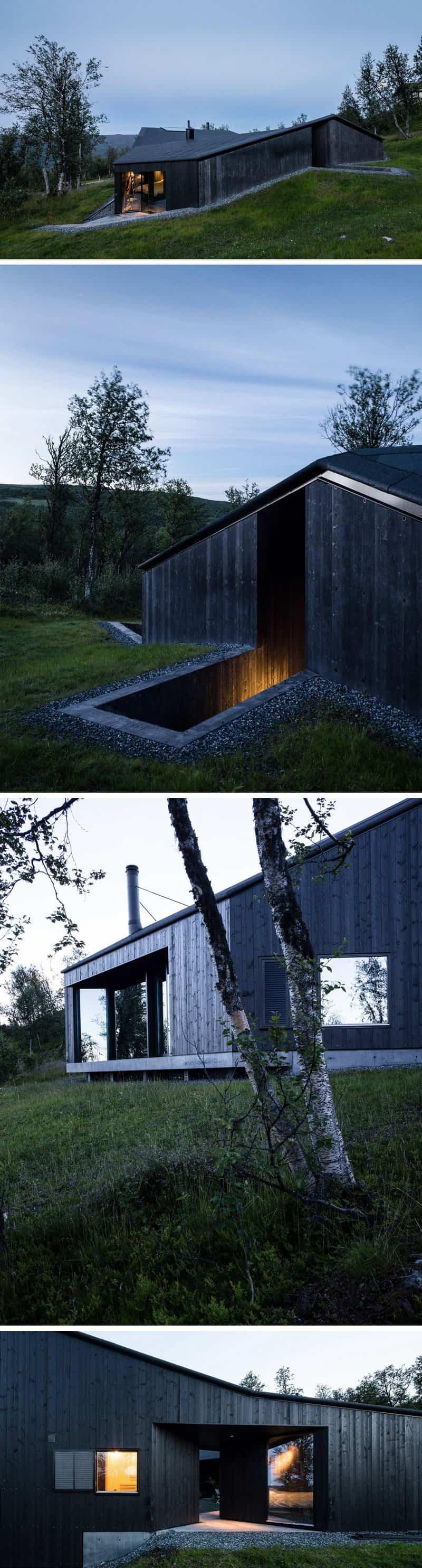 casas modernas con exteriores negros 13