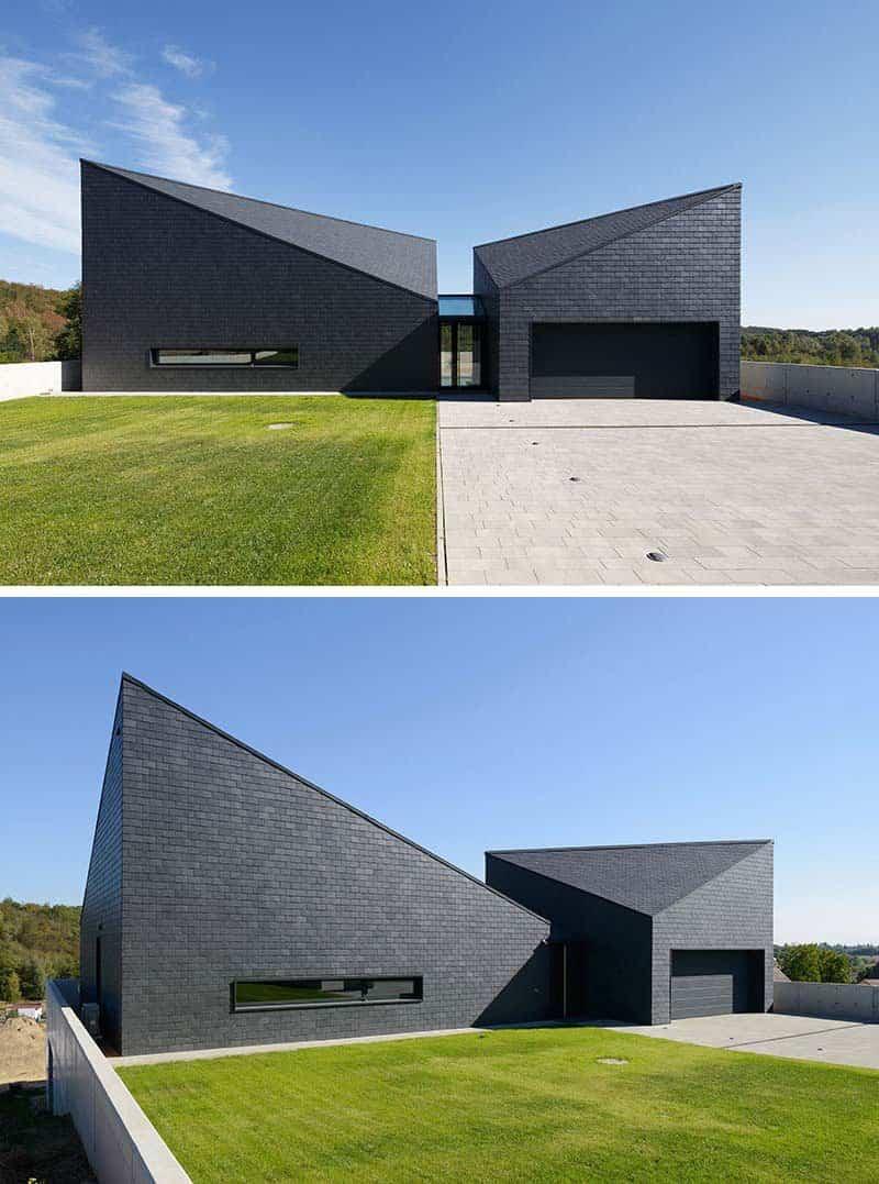 casas modernas con exteriores negros 14