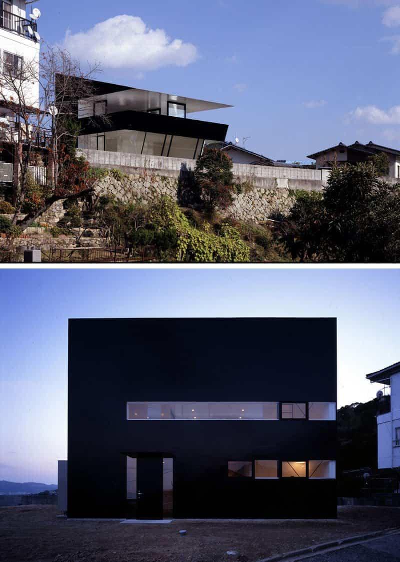 casas modernas con exteriores negros 3