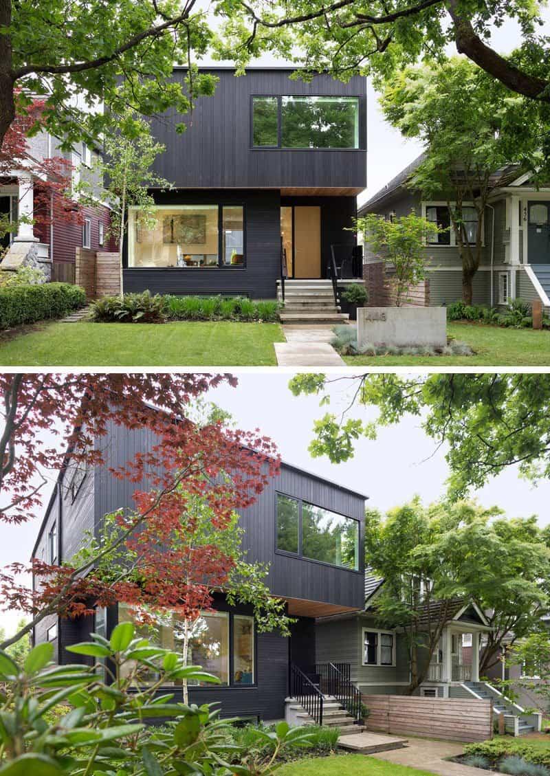 casas modernas con exteriores negros 5