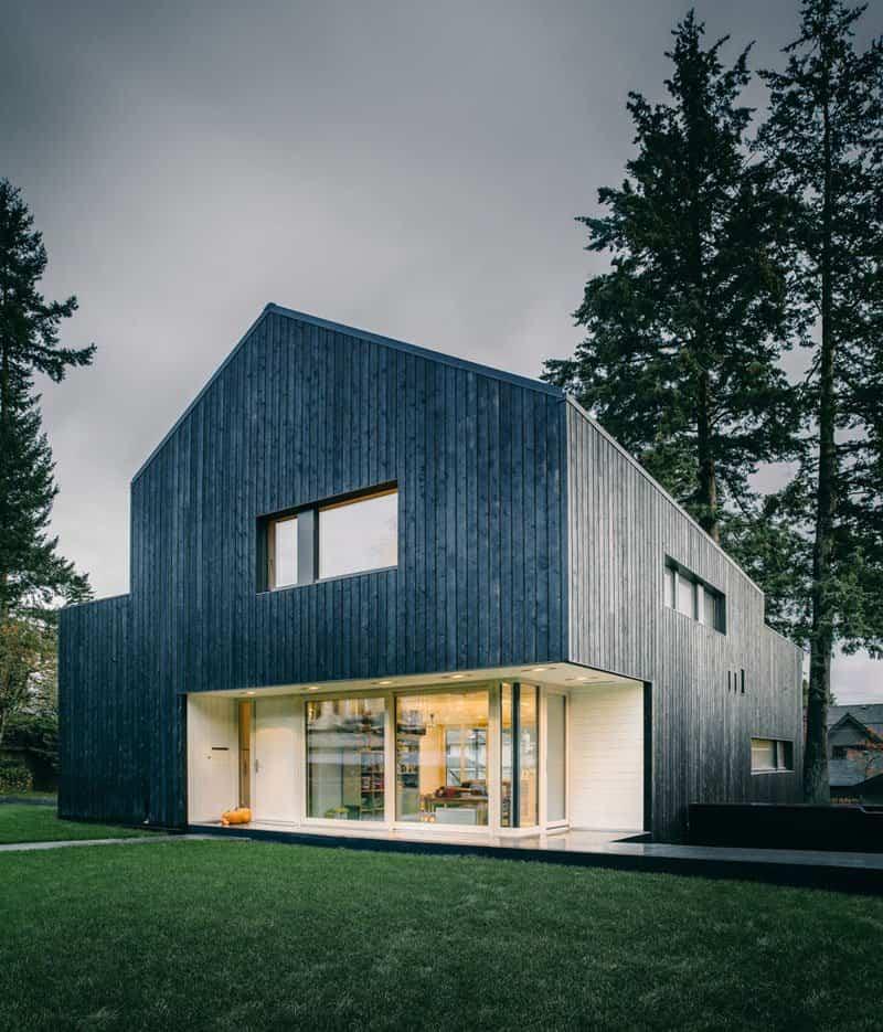 casas modernas con exteriores negros 7