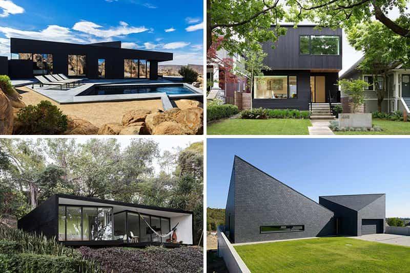 Casas-modernas-con-exteriores-negros