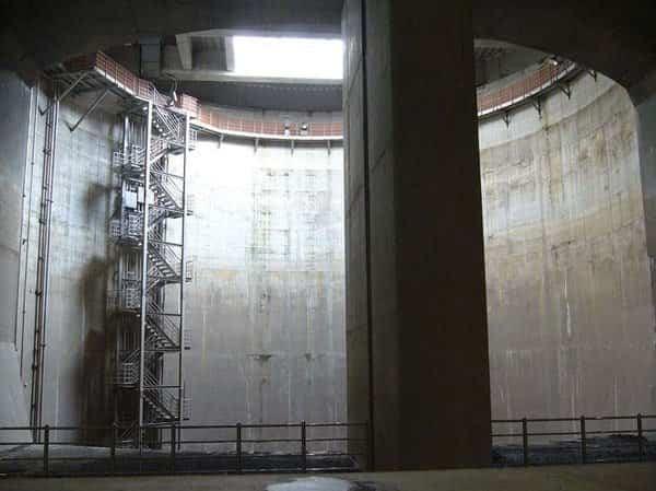 construcciones bajo tierra 6 canal de showa