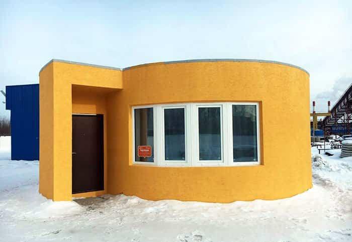 impresora 3d construye una casa 1