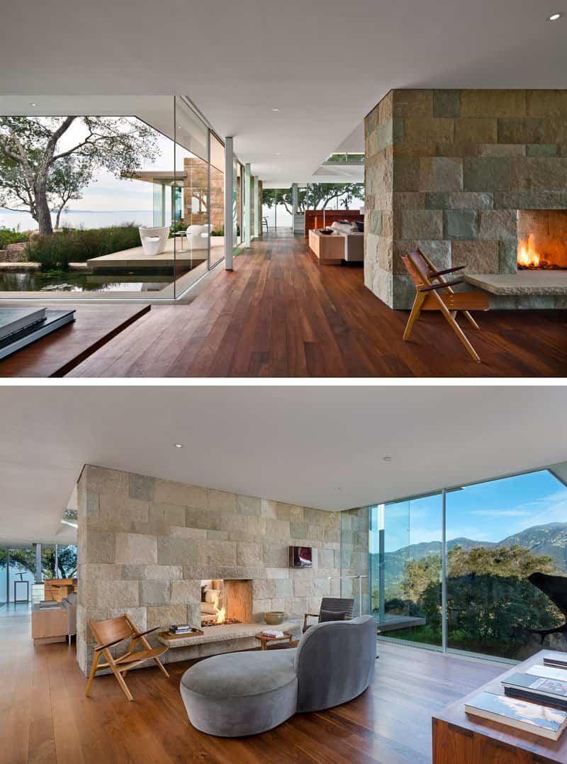 casa con paredes de cristal 3