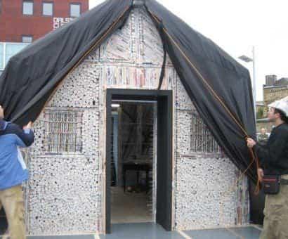 casa construida con materiales reciclados 5