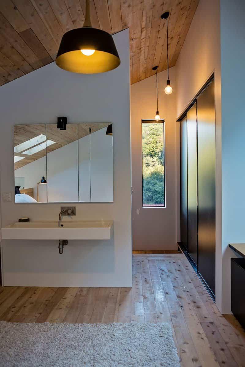 Casa rural en Nueva Zelanda con un diseño muy llamativo