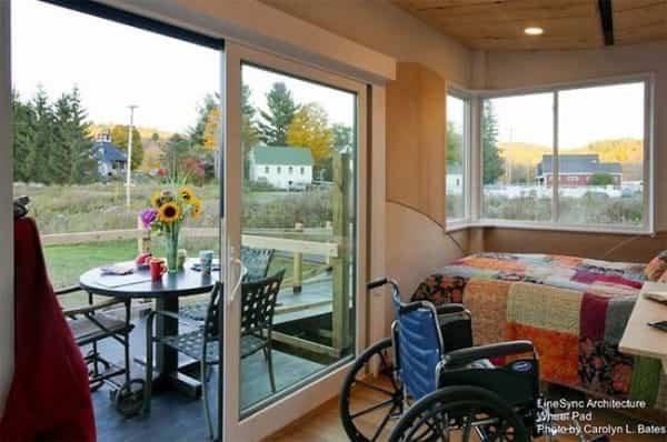 pequena casa sobre ruedas adaptada 4