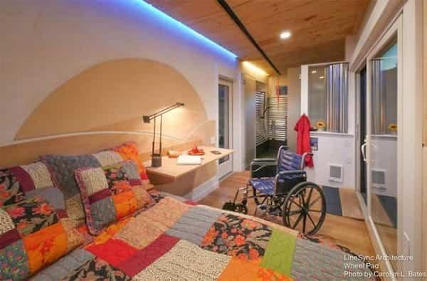 pequena casa sobre ruedas adaptada 5