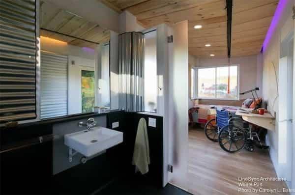 pequena casa sobre ruedas adaptada 9