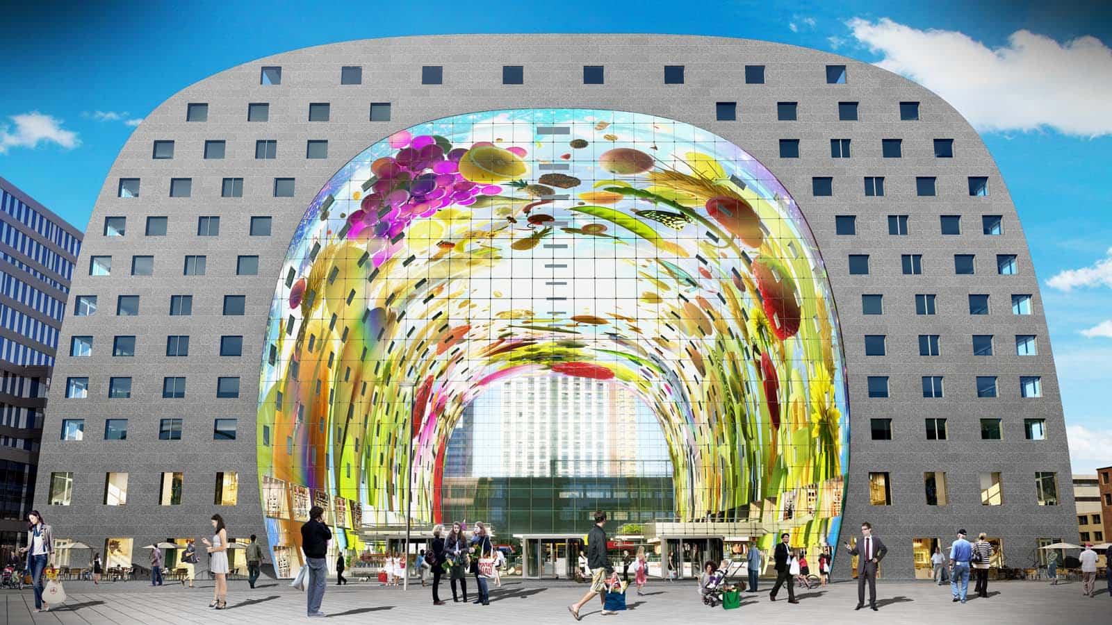 proyectos arquitectura moderna 10 markthal