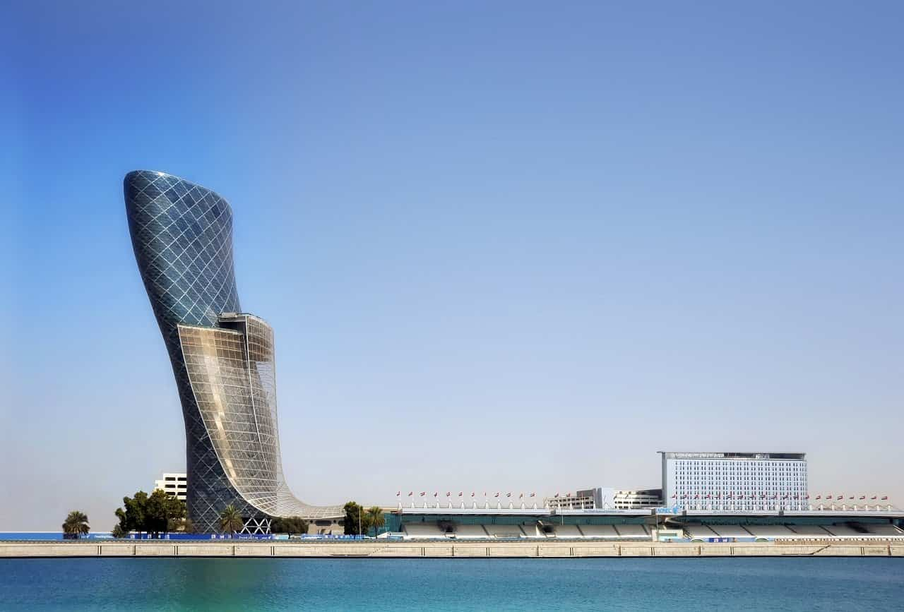 proyectos arquitectura moderna 8 capital gate