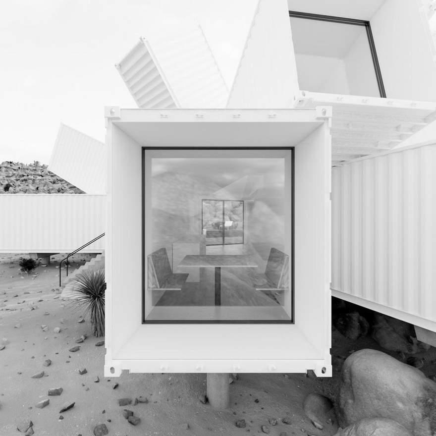 contenedores de mercancias desierto 8