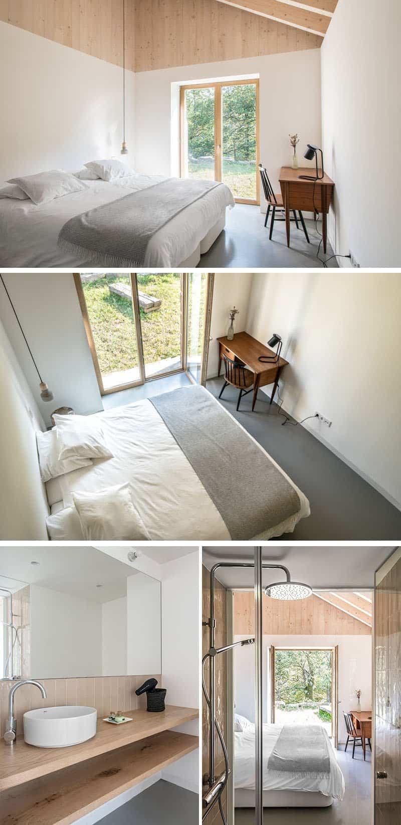 casa de piedra con interior contemporaneo 10
