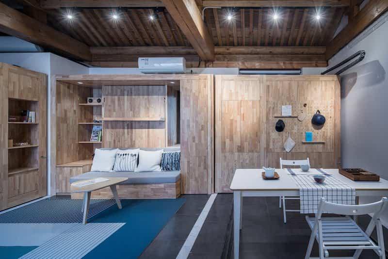 la casa del futuro espacio reducido 2