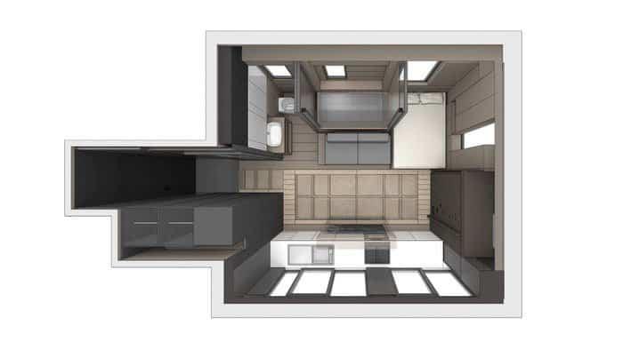 viejo apartamento transformado en vivienda moderna 4