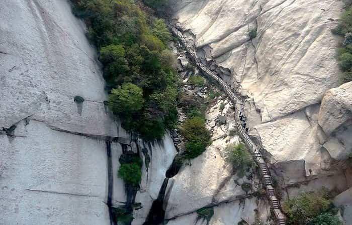 escaleras peligrosas 4 monte huashan